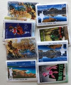 Mixed Stamps Seventy Cents 70c x 200 unfranked no gum FV $140