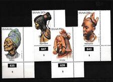 Namibia - Südwestafrika 528-531 postfrisch Eckrandstücke mit Plattennummern