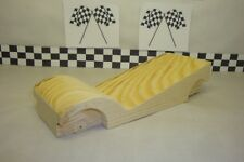 Pinewood Derby Pre-cut, Steam Roller Wedge Max, Long Wheel Base, With Fenders!