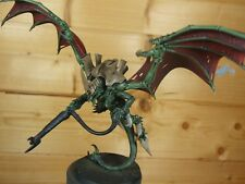 PLASTIC WARHAMMER TYRANID WINGED HIVE TYRANT WELL PAINTED (L)