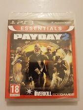 PAYDAY 2 PlayStation 3 (ps3) pal España Nuevo y sellado de fabrica