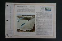 FRANCE CEF 1972 FISCHE FISH LACHS SAUMON SALMON ETB ERSTTAGSBLATT z1432