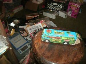 BOX1B  TMNT VINTAGE TURTLES COOKIES bite size EMPTY BOX 1989 delicious cookie co