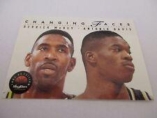 Carte NBA SKYBOX 1993-94 #302 Derrick McKey Antonio Davis Indiana Pacers