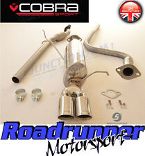 "Fiesta MK7 Zetec S 1.6 Cobra Exhaust System 2"" Cat Back FLEX TYPE FD60-YTP18 Tip"