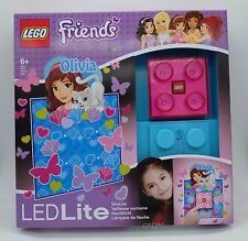 GENUINE Lego Girls LED BRICK NIGHT LIGHT with 30 minute timer Olivia Nite Lite