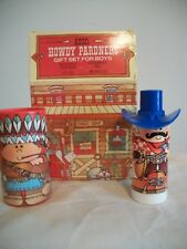 AVON HOWDY PARDNERS GIFT SET FOR BOYS BUCKAROO COLOGNE AND TALC
