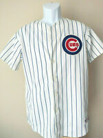 vtg Chicago Cubs 12 ALFONSO SORIANO YOUTH pinstripe Jersey majestic XL mlb