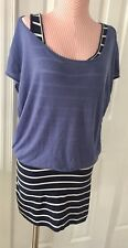 DEREK HEART Stretch Dress With Attached Top Size S/M
