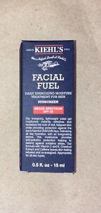 Kiehl's Lot Of 60 Mens Facial Fuel Sunscreen Moisture Treatment 0.5oz Ex 12/2020