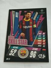Topps Match Attax Extra 20/21 Leo Messi Super Skill Star Barcelona