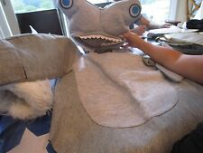 Pottery Barn Kids Teen Halloween costume  Hammerhead Shark size Small  New