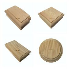 PINE pyramid Newel Cap, Newel Post, Staircase Post Cap, Post Top, Pine Staircase