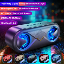 bluetooth Speaker Home Subwoofer Outdoor Mini Audio Portable Card Bass Stereo
