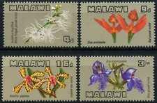 Malawi 1969 SG#329-332 Flowers, Orchids MNH Set #D59059