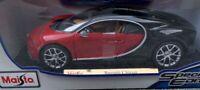 Diecast Bugatti Chiron 1:18 Special Edition - Red - New In Box