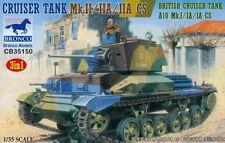 Bronco Models 1/35 British Cruiser Tank Mk.II/IIA/IIA CS (3 in 1)