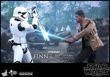 "12"" Star Wars Finn 1st Order Riot Control Stormtrooper Hot Toys 902626 In Stock"