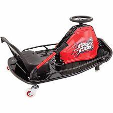 Razor Crazy Cart Kids Boy or Girl 140 lbs foot pedal fun competitive race black