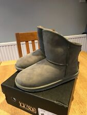Australia Luxe Collective Grey X Short Ugg Boots uk 7 RRP £155