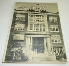 Magician 1943 Muncie Central Senior High School Year Book Indiana IN Yearbook