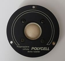Polypropylene cellular POLYCELL dome tweeter EXCELLENT CHECKED