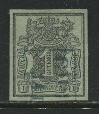 Hanover 1850 1 guten groschen SUPERB used