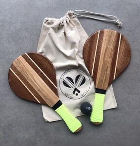Blagdino Beach Bats, Beach Tennis,Frescobol,Holiday, Garden Keep Fit,Outdoor Fun