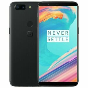 """OnePlus 5T Dual SIM 4G LTE Octa-core Android 6.01"""" 64GB / 128GB ROM Cell Phone"""