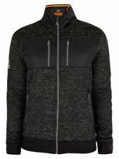 NWT100$  Superdry Men's Storm Track Top Jacket Black gray  **L-XL