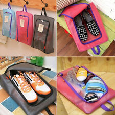 Waterproof Laundry Shoe Travel Pouch Storage Portable Zipper Bag Organizer New