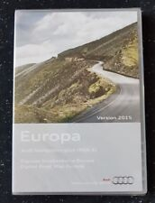Nuevo Audi RNS-E 2004-2009 discos DVD de navegación Sat Nav mapa 2015 A3 A4 A6 TT