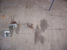 1968 DODGE CORONET STATION WAGON TAILGATE LATCHES COMPLETE SET (3)