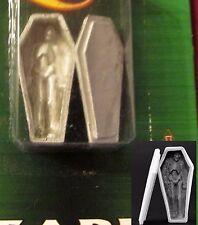 Reaper 03685 DHL Coffin (1) Miniature Casket & Corpse Skeleton Cemetery Terrain