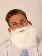 White economy beard Santa gnome dwarf fancydress costume accessory