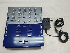 Numark DJ Mixer GRY BLU DXM01 USB With Power Adapter