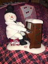 "Hallmark 2005 ""Jingle Pals"" Snowman Playing Piano (Works Great)  #1"