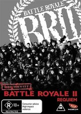 Battle Royale 2 - Requiem DVD R4 +dvd extras! Brand New sealed!