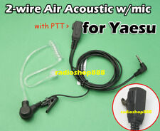 PTT earpiece with Acoustic Tube Yaesu VX-2R VX3R 006y