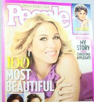 People Magazine Special Double Issue Christina Applegate Salma Hayek May 11 2009