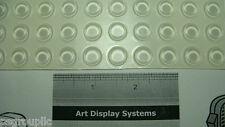 "100 Cabinet Door Bumpers 1/2"" x 0.14"" Noise Reduction Polyurethane Bumper Feet"