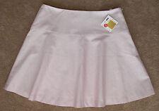 "Esprit ""Stretch"" Red/White Pin Striped Knee Length A-Line Skirt Sz 12 $90 NWT!"