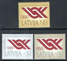 Latvia #B150-B152 MNH CV$2.65 National Olympic Committee