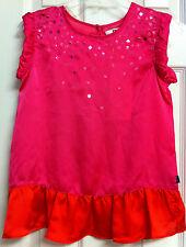 NWT*Toddler Girl*Saks DONNA KARAN BRILLIANCE Shift-DRESS/Tunic/Top*Lolli-Pink L