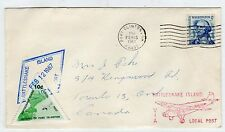 USA: 1967 COVER TO CANADA VIA RATTLESNAKE ISLAND LOCAL POST (C23623)