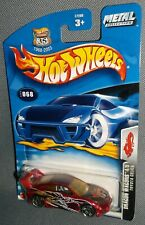 Hot Wheels 2003 #068 Dragon Wagons #4 of 5 Toyota Celica Red Black PR5s China