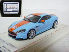 Tecnomodel T-MI23AV 1/43 2010 Aston Martin DBS Gulf Resin Handmade Model Car