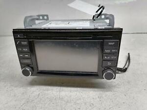 NISSAN JUKE F15 RADIO CD SAT NAV HEAD UNIT 7612033119 2014-2018 +Warranty