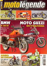 MOTO LEGENDE 265 BMW R100 RT GUZZI 850 T3 YAMAHA 250 YDS-7 MALANCA RAHAN