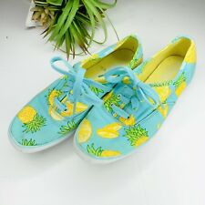 23b8363287cce Keds Champion Fruit Pineapple Sneakers Lace up shoes Blue Yellow womens 6